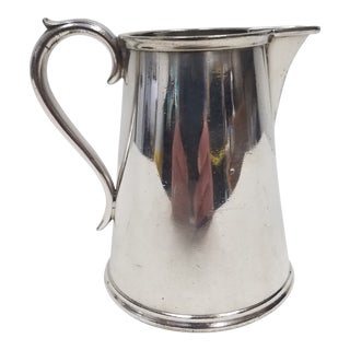 Antique English Silverplate Cream Pitcher - Elkington For Sale