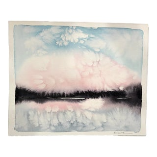 Abstract Landscape IV Painting by Katie White For Sale