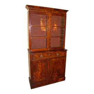 George IV Mahogany Bookcase For Sale
