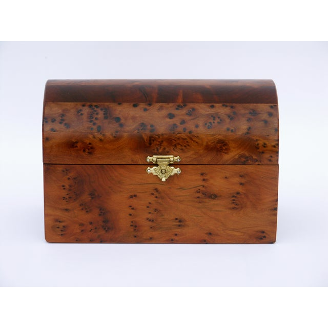 Decorative Juniper Burl Wood Box - Image 4 of 10