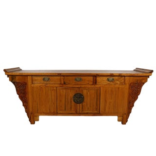 Late 19th Century Chinese Altar Sideboard For Sale