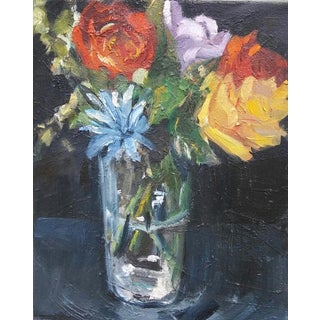 Paula McCarty Summer Bouquet Still Life Painting For Sale
