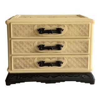 Midcentury Asian Chinoiserie Jewelry Storage For Sale