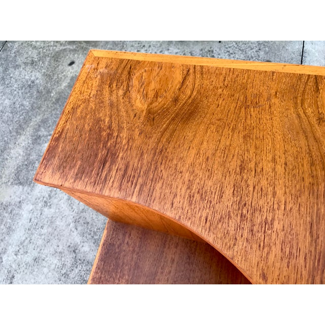 Danish Modern Teak End Tables- A Pair - Image 11 of 11