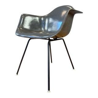 Charles Eames Flame Logo Fiberglass Shell Armchair for Herman Miller For Sale