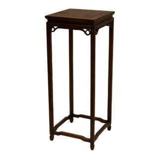 Asian Tall Side Table For Sale
