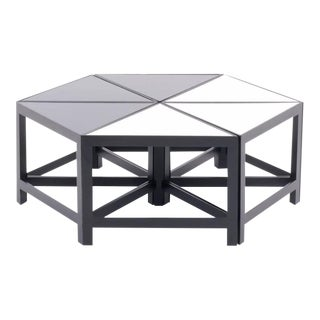 Harvey Probber Attribution Set of Six Modular Tables For Sale