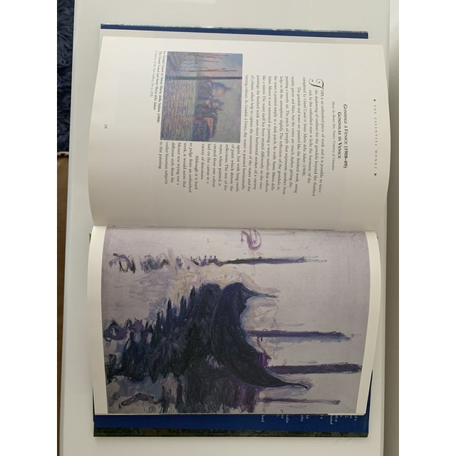 """1990s """"Essential Monet"""" Coffee Table Book For Sale - Image 5 of 9"""