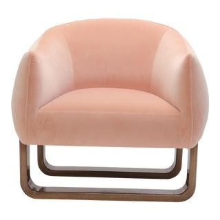 Marie Burgos Design Pink Milo Armchair For Sale