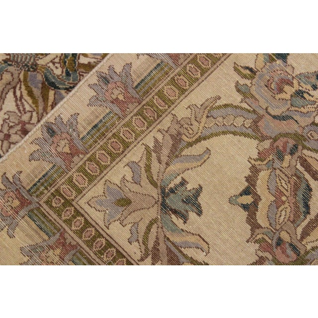 Textile Victorian Basan Pak-Persian Rossana Wool Rug - 8′5″ × 10′ For Sale - Image 7 of 9
