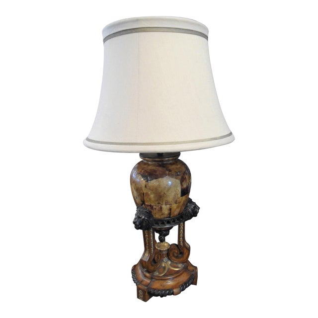 Maitland Smith Tortoise Shell Lamp For Sale