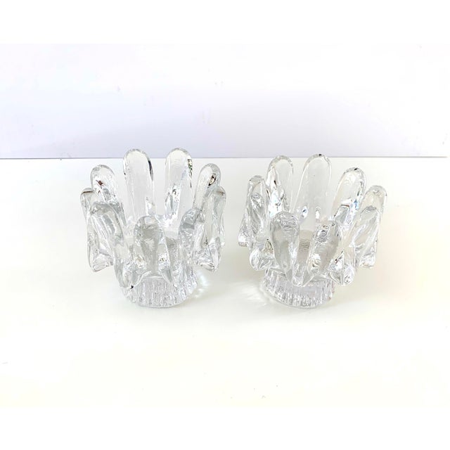1970s Kosta Boda Candle Holders - a Pair For Sale - Image 11 of 11
