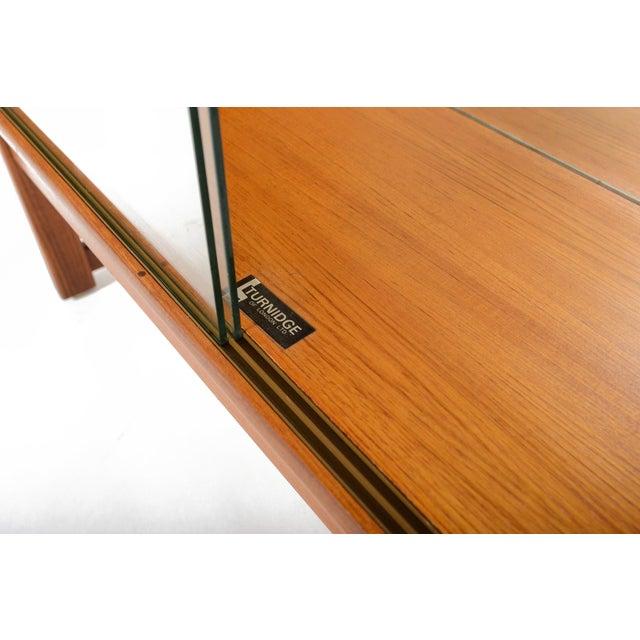Turnidge of London Sliding Glass Doors Bookcase For Sale - Image 7 of 7
