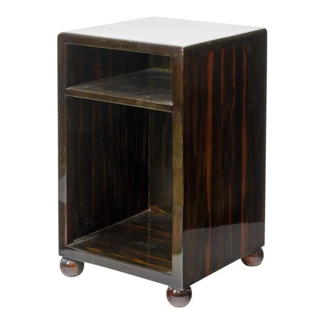 Art Deco Superb Macassar Side Table For Sale