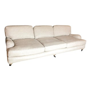 Restoration Hardware Tan Sofa For Sale