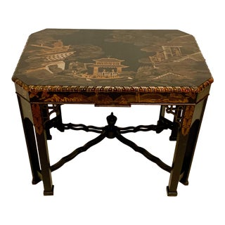 Chinese Chippendale Table by John Widdicomb For Sale