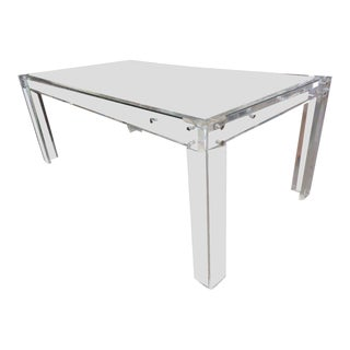 Vintage Modern Lucite Dining Table
