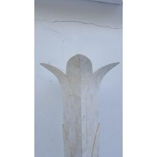 Italian Palm Tree Shape Tessellate Stone Floor Lamp Preview
