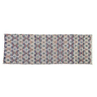 Swedish Handwoven Rug For Sale