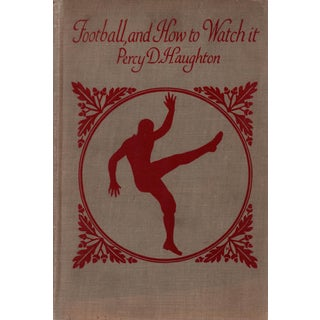 """1922 """"Football, and How to Watch It"""" Collectible Book For Sale"""