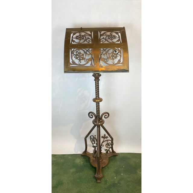 19th Century Brass Music Stand / Lectern For Sale - Image 13 of 13