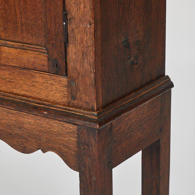 1900 - 1909 Oak Hall Cupboard on Stand For Sale - Image 5 of 6
