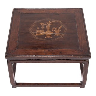 Chinese Low Eight Treasure Table For Sale
