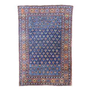 Antique Yerevan Rug with Modern Tribal Style, Antique Russian Armenian Rug