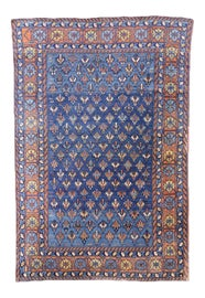 Image of Light Yellow Traditional Handmade Rugs