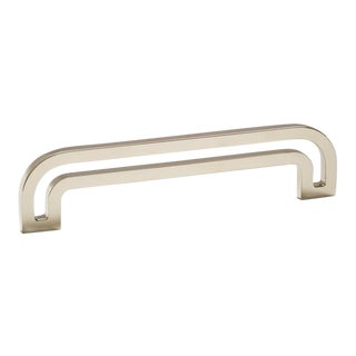 Deco-5.5 Polished Nickel Handle For Sale