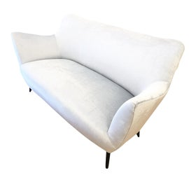 Image of Silver Loveseats