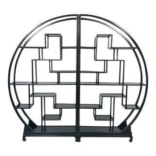 Asian Circular Shelf For Sale