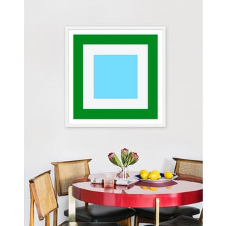 "Medium ""Squared V"" Print by Wendy Concannon, 31"" X 31"" Preview"