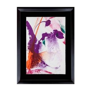 Modern Paul Jenkins Lithograph Original - Hand Signed- Vélin D'Rives +Framing For Sale