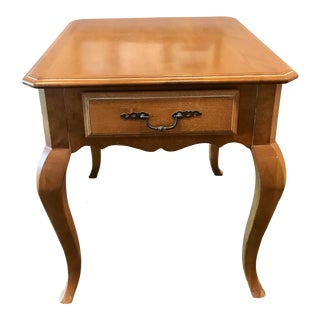 Ethan Allen French Country Side Table For Sale