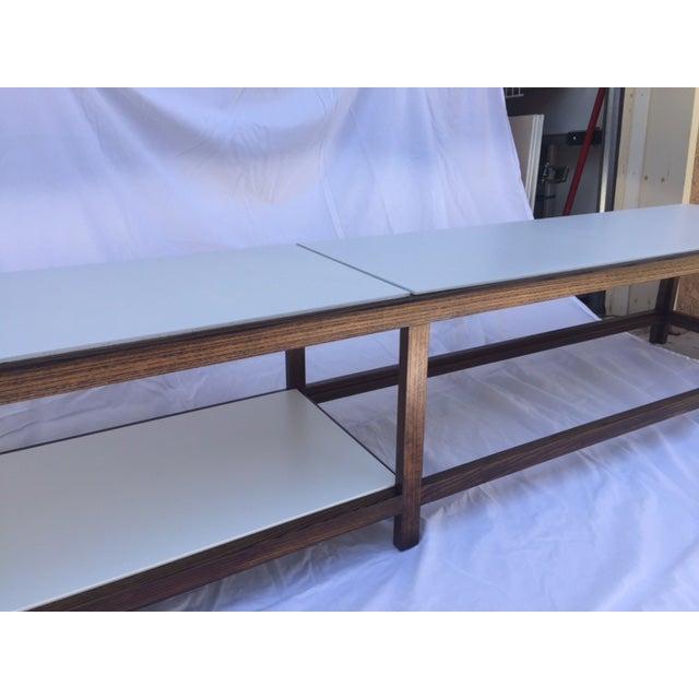"""Edward Wormley """"Dunbar"""" Ash & Laminate Table - Image 6 of 6"""