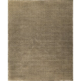 Stark Studio Rugs Contemporary Oriental Wool and Bamboo Silk Rug - 12' X 15' For Sale