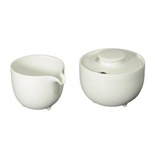 Tapio Wirkkala for Rosenthal Porcelain Sugar & Creamer For Sale