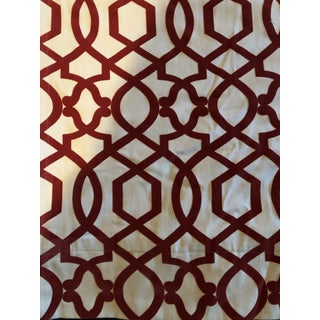 Custom Panel Window Treatments - a Pair For Sale
