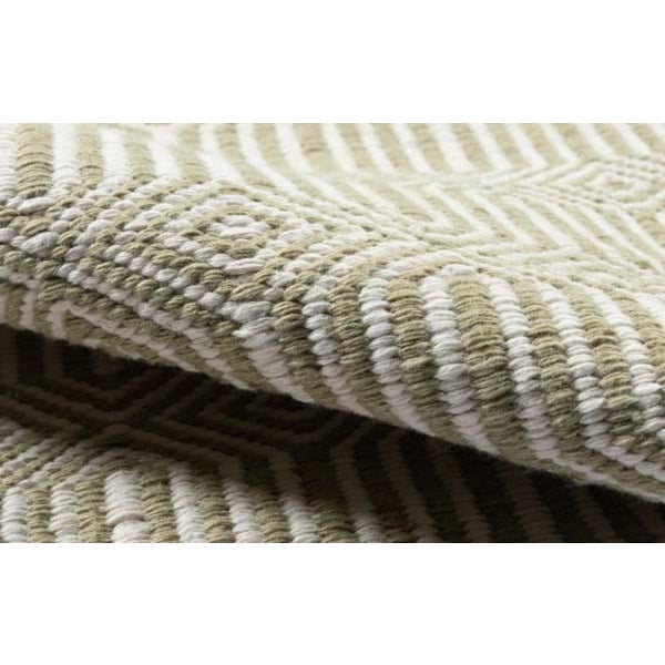 """Erin Gates Newton Holden Green Hand Woven Recycled Plastic Area Rug 5' X 7'6"""" For Sale - Image 4 of 5"""