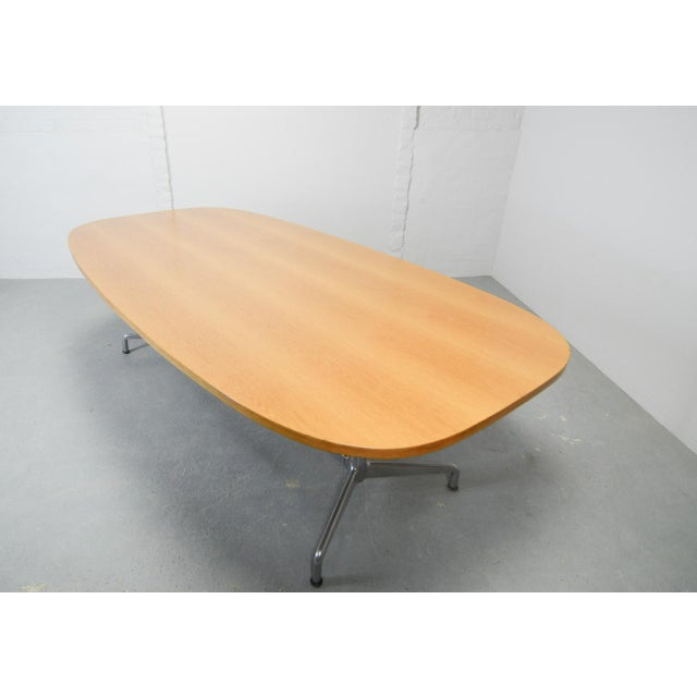 Large Mid-Century Design Eames Conference Dining Table for Herman Miller, Usa, 1960s For Sale - Image 9 of 11
