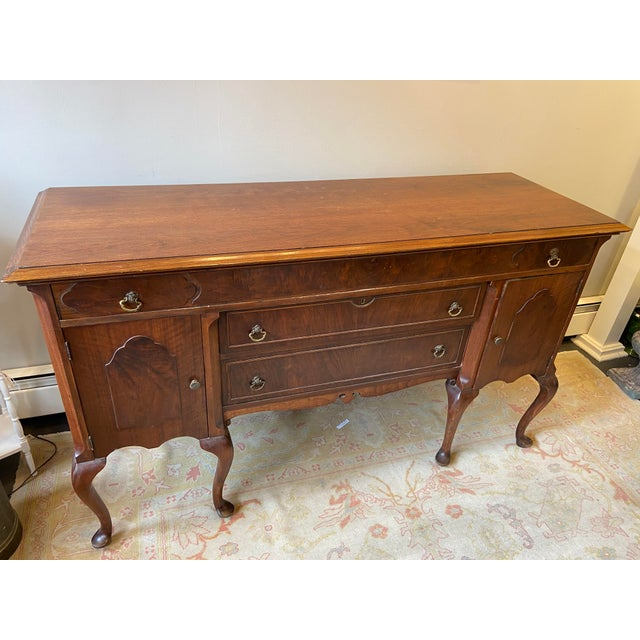 Antique French Mahogany Sideboard For Sale - Image 4 of 10