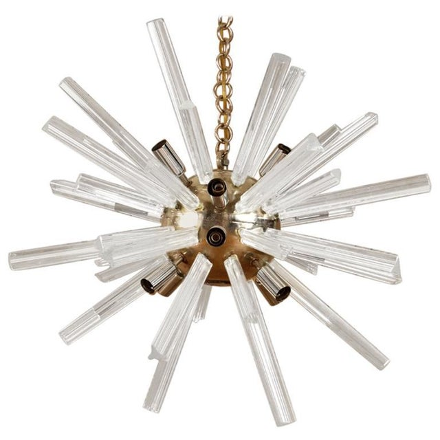 1960s 1960s Italian Murano Glass Sputnik Chandelier For Sale - Image 5 of 5