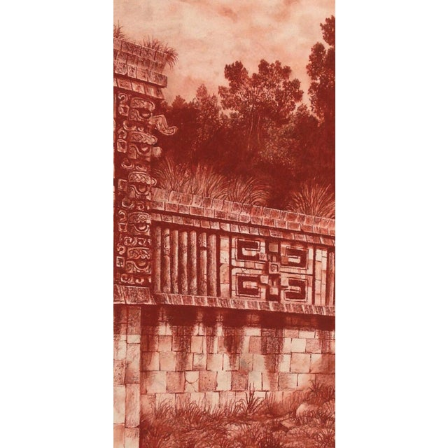 Mexican artist Jorge Kuhliger Bertoni's study of ancient Mayan sites brought him in situ to the actual ruins. Considered...