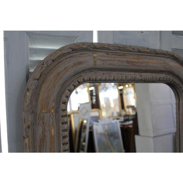 20th Century Vintage Louis Philippe Style Mirror For Sale In Atlanta - Image 6 of 7