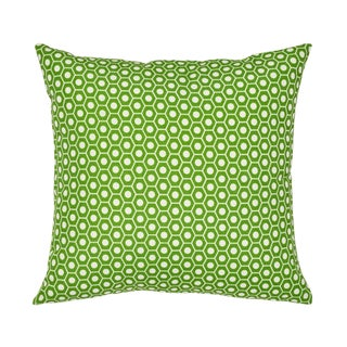 Contemporary Schumacher X Studio Bon Queen B II Indoor/Outdoor Pillow in Green - 16ʺW × 16ʺH For Sale