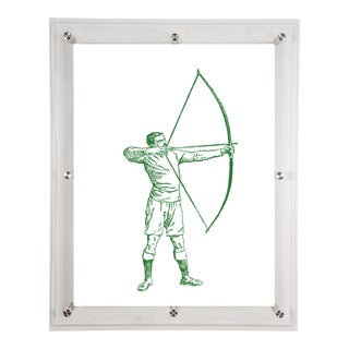 """Archer"" Acrylic Framed Wall Art For Sale"