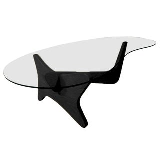 """Mid-Century Noguchi Style Biomorphic """"Airplane"""" Coffee Table For Sale"""