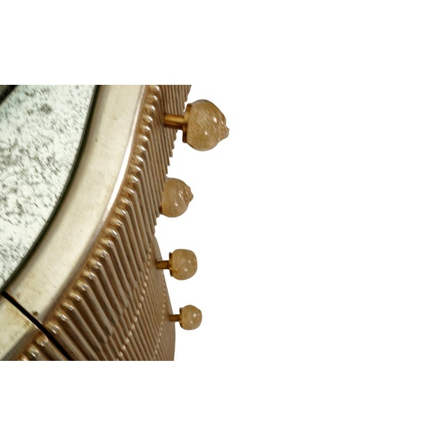 Designer Nancy Corzine Curtain Vanity Credenza Console For Sale - Image 12 of 13