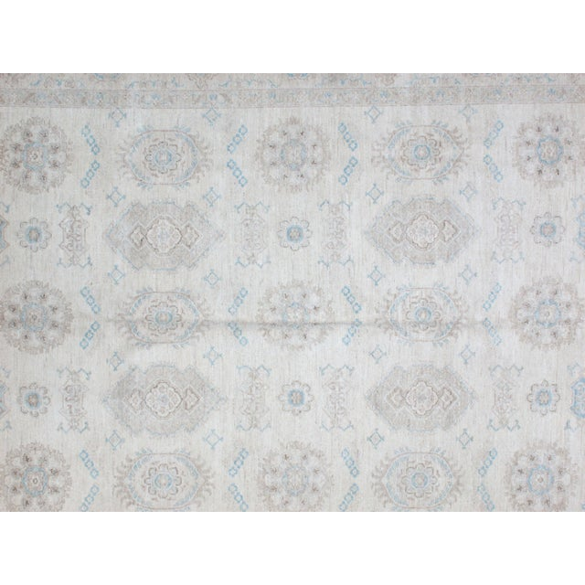 "Leon Banilivi Khotan Carpet - 9'1"" X 12' For Sale - Image 4 of 5"